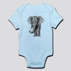 Paisley Elephant Body Suit