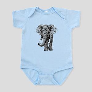 Paisley Elephant Body Suit
