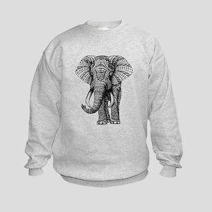 Paisley Elephant Sweatshirt