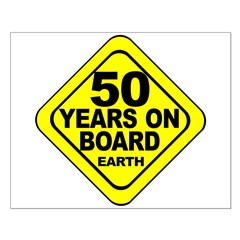 50th Birthday Posters