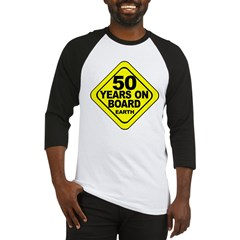 50th Birthday Baseball Jersey