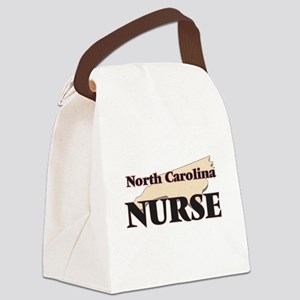North Carolina Nurse Canvas Lunch Bag