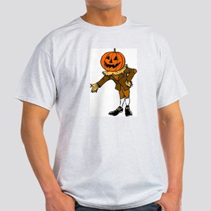HALLOWEEN PUMPKIN HEAD SCARECROW PILGRIM T-Shirt