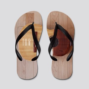 Venezuelan Cuatro (Full Color Big) Flip Flops