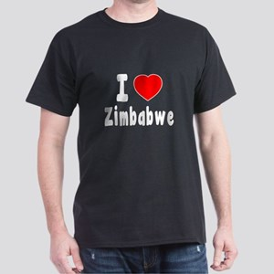 I Love Zimbabwe Dark T-Shirt