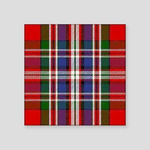 MacFarlane Red Scottish Tartan Sticker