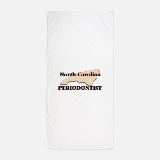 North Carolina Periodontist Beach Towel
