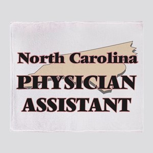 North Carolina Physician Assistant Throw Blanket