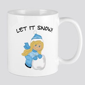 Let It Snow _Blonde Mugs