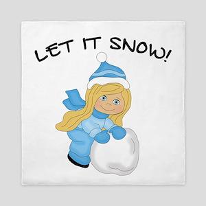 Let It Snow _Blonde Queen Duvet