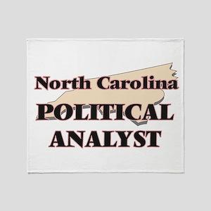 North Carolina Political Analyst Throw Blanket