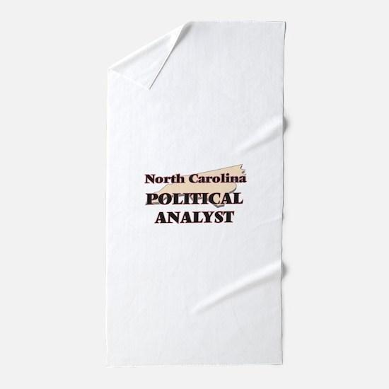 North Carolina Political Analyst Beach Towel