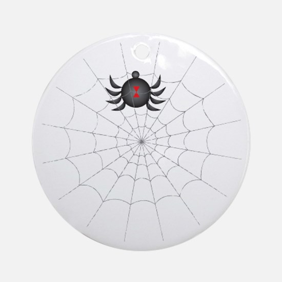 The Spiders Den Ornament (Round)