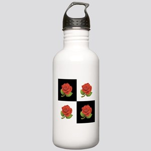 RED ROSES Water Bottle