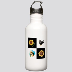 SUNFLOWERS & SCARECROWS Water Bottle