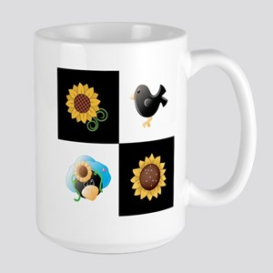 SUNFLOWERS & SCARECROWS Mugs