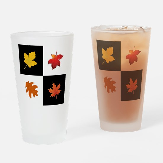 FALLING LEAVES Drinking Glass
