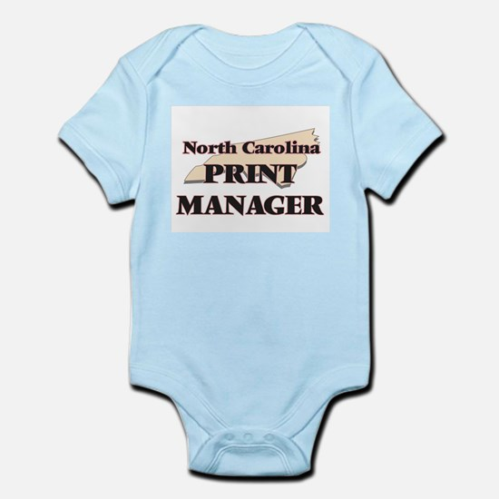 North Carolina Print Manager Body Suit