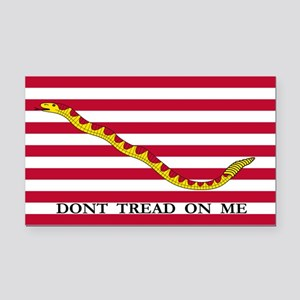 First Navy Jack Flag Rectangle Car Magnet