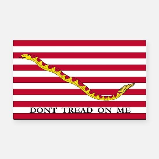 First Navy Jack Flag Rectangle Car Magnet