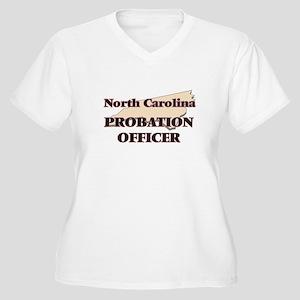 North Carolina Probation Officer Plus Size T-Shirt