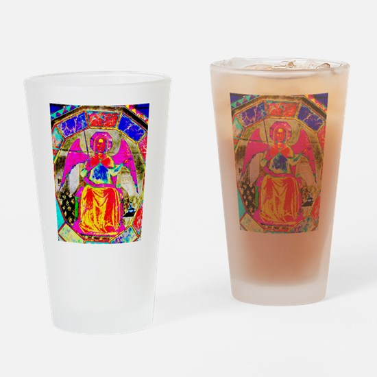 Angel Pink Drinking Glass