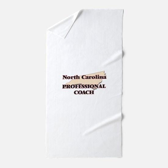 North Carolina Professional Coach Beach Towel