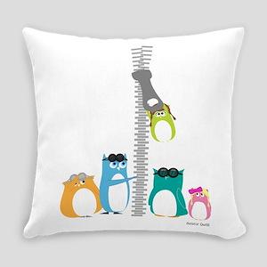 Zip Zip Owls Everyday Pillow