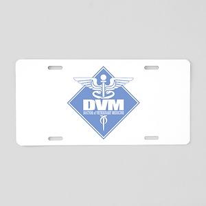 DVM (b)(diamond) Aluminum License Plate