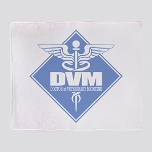 DVM (b)(diamond) Throw Blanket