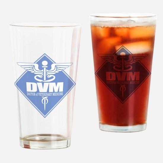 DVM (b)(diamond) Drinking Glass