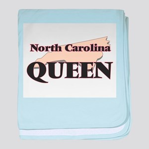 North Carolina Queen baby blanket