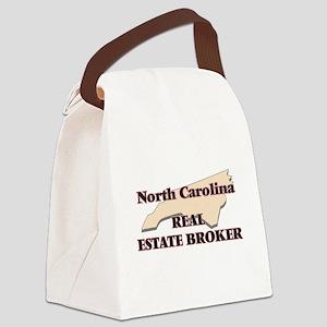North Carolina Real Estate Broker Canvas Lunch Bag