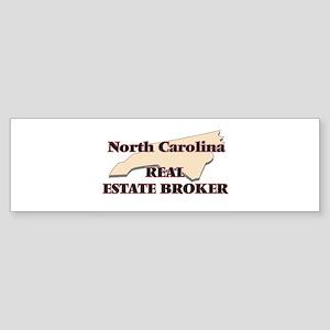 North Carolina Real Estate Broker Bumper Sticker