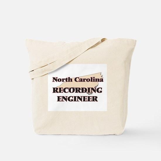 North Carolina Recording Engineer Tote Bag