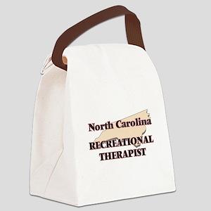 North Carolina Recreational Thera Canvas Lunch Bag