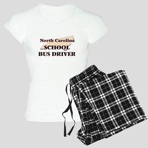 North Carolina School Bus D Women's Light Pajamas