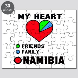 My Heart Friends, Family and Namibia Puzzle