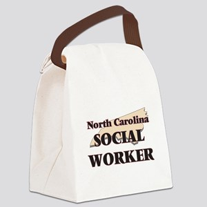 North Carolina Social Worker Canvas Lunch Bag