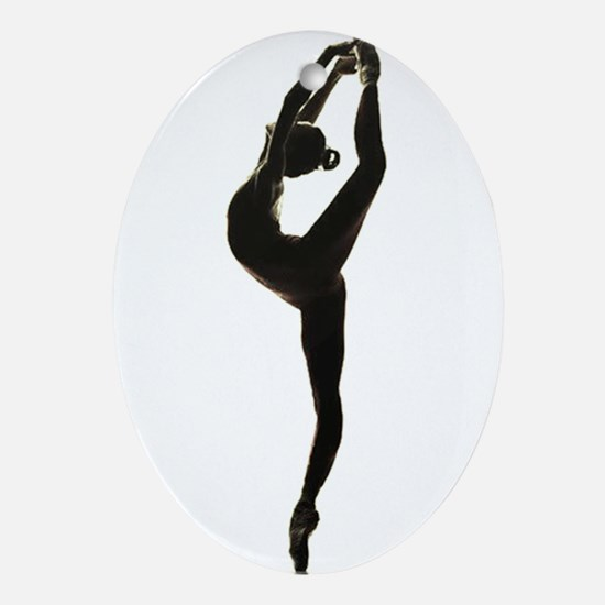 Ballet Dance Oval Ornament