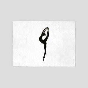 Ballet Dance 5'x7'Area Rug