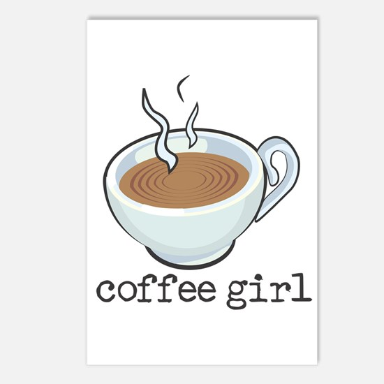 Coffee Girl Postcards (Package of 8)
