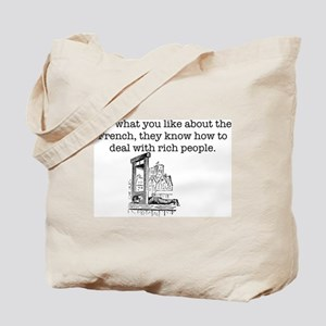 French Rich People Tote Bag