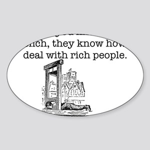 French Rich People Sticker