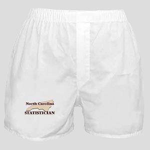 North Carolina Statistician Boxer Shorts