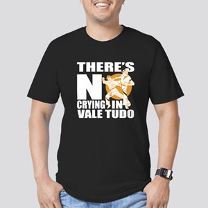 There Is No Crying In Men's Fitted T-Shirt (dark)