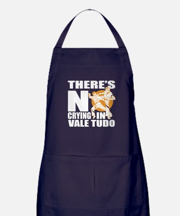 There Is No Crying In Vale Tudo Apron (dark)