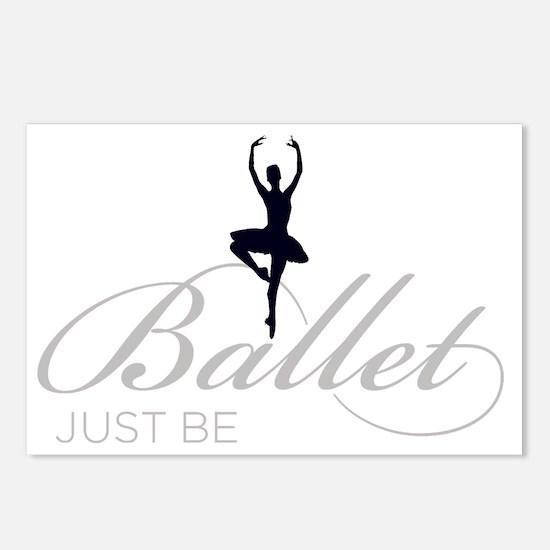 Funny Ballet dance Postcards (Package of 8)