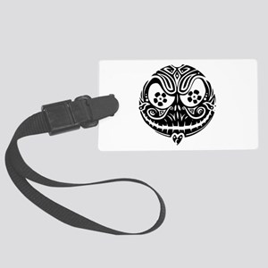 Jack Scarry Face Large Luggage Tag