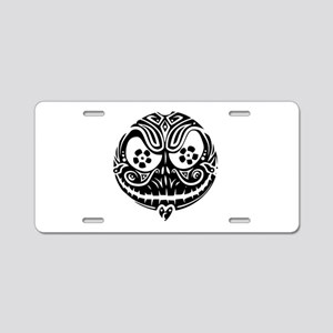 Jack Scarry Face Aluminum License Plate
